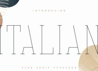 Italian Font