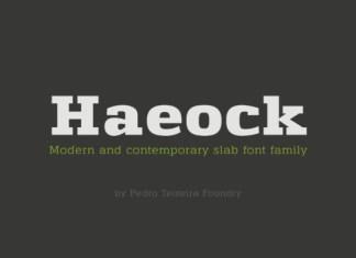 Haeock Font