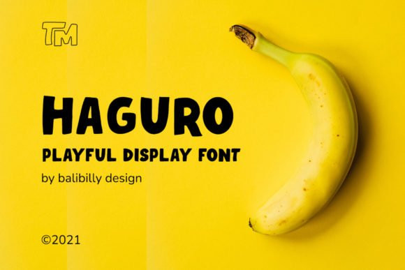 Haguro Font