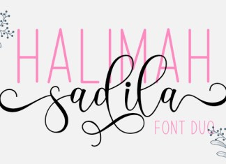 Halimah Sadila Font