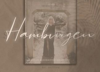 Hamburgen Font