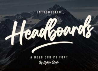 Headboards Font