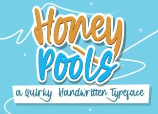 Honey Pools Font