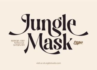 Jungle Mask Font