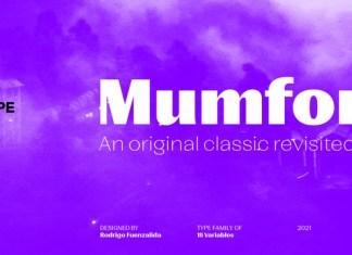 Mumford Font