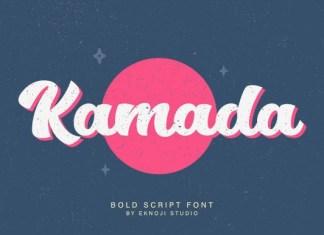 Kamada Font