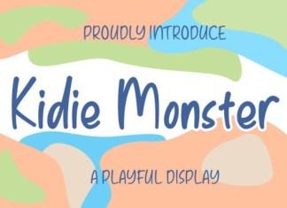 Kidie Monster Font