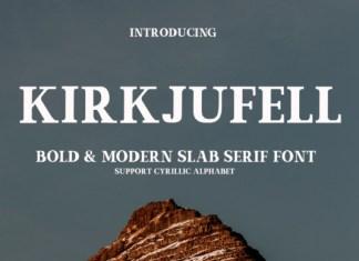 Kirkjufell Font