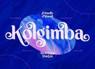 Kolgimba Font