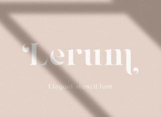 Lerum Font