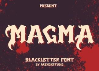 Magma Font