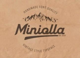 Miniolla Font