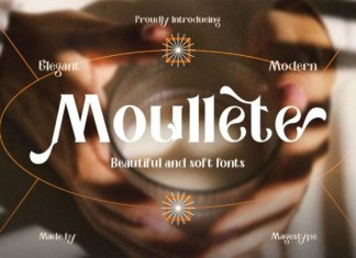Moullete Font