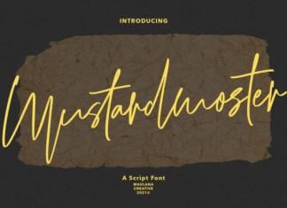 Mustardmoster Font