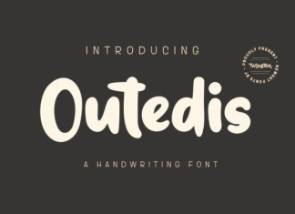 Outedis Font
