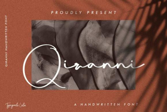 Qiranni Font