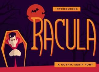 Racula Font