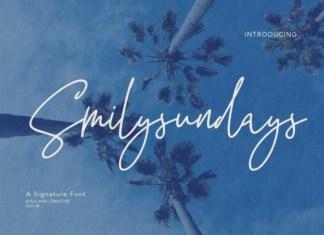 Smilysundays Font