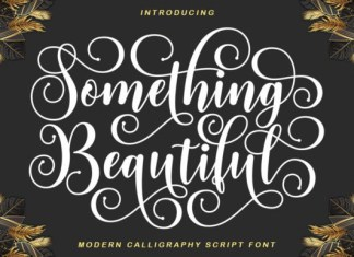 Something Beautiful Font
