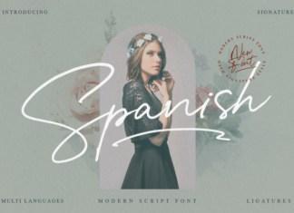 Spanish Font
