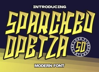 Sparcked Opetza Font