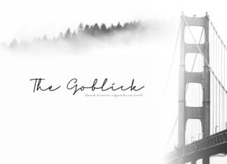 The Goblick Font