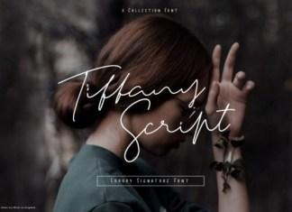 Tiffany Script Font