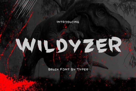 Wildyzer Font