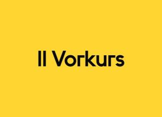 II Vorkurs Font