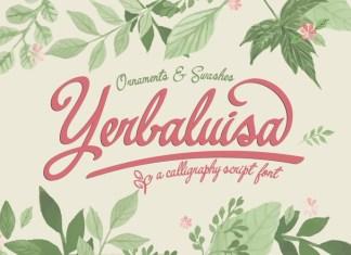 Yerbaluisa Font