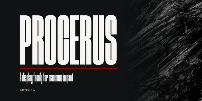 Procerus Font