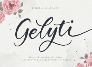 Gelyti Font