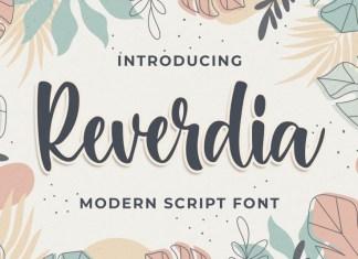 Raverdia Font