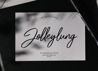 Jolleylung Font