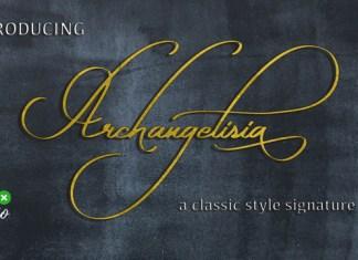 Archangelisia Font
