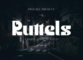 Ruttels Font
