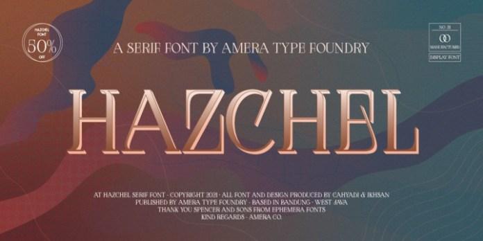 AT Hazchel Font