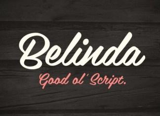 Belinda New Font