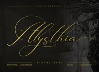 Alysthia Font