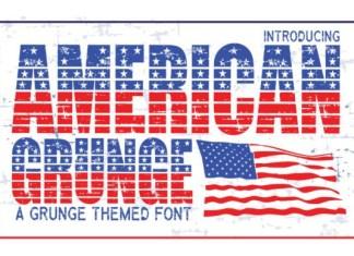 American Grunge Font