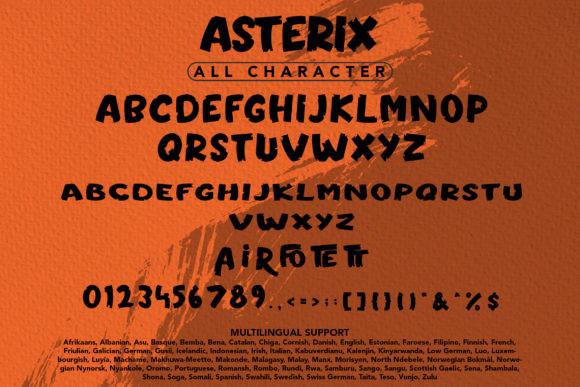 Asterix Font