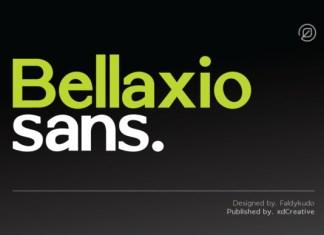 Bellaxio Sans Font