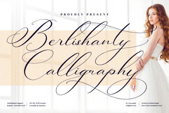 Berlishanty Calligraphy Font
