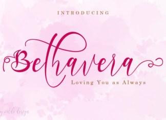 Bethavera Font