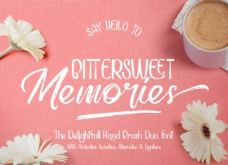 Bittersweet Memories Font