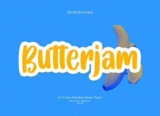 Butterjam Font