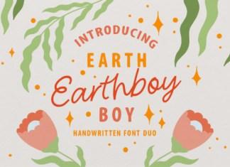 Earthboy Script Duo Font