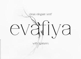 Evafiya Font