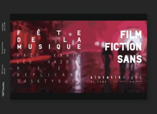 Film Fiction Font