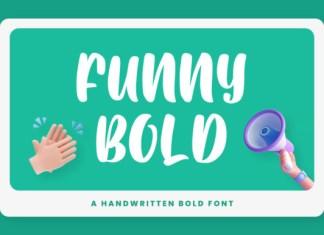 Funny Bold Font